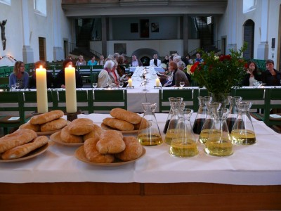 2011 Tischabendmahl Gründonnerstag