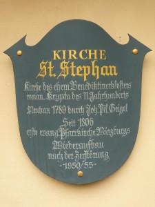 Denkmal-Tafel