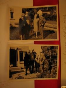 Fotos  von li.: Ehepaar Schwinn Carmen und Helmut Ammann undatiert