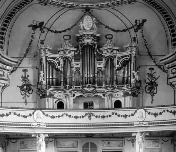 Kirche Alte Orgel