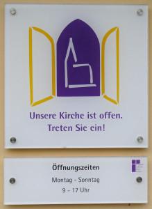 Kirche offen