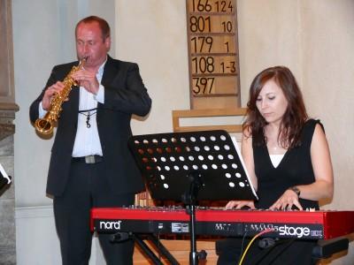 Magdalena Domagala (Piano), Eduard Prost (Saxophon)