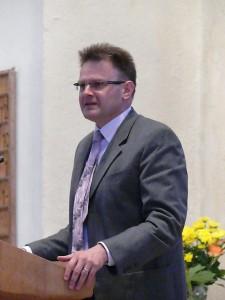Dr. Rainer Dvorak, Direktor der Kath. Akademie Domschule