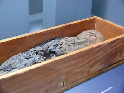 Der tote und auferweckte Osiris, ca. 3.-2. Jh. v. Chr.