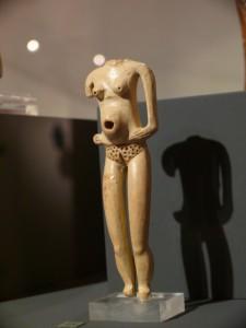 Stehende Schwangere, Beersheba ca. 4000 v. Chr.