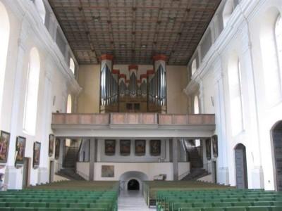Die Weigle-Orgel bis Sommer 2014