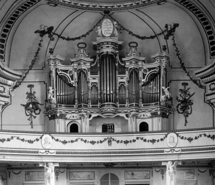 Orgelprospekt bis 1945