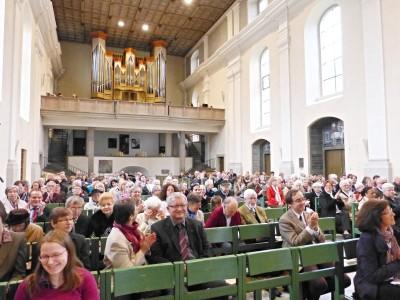 Festgottesdienst mit Orgelweihe 3.5.2015